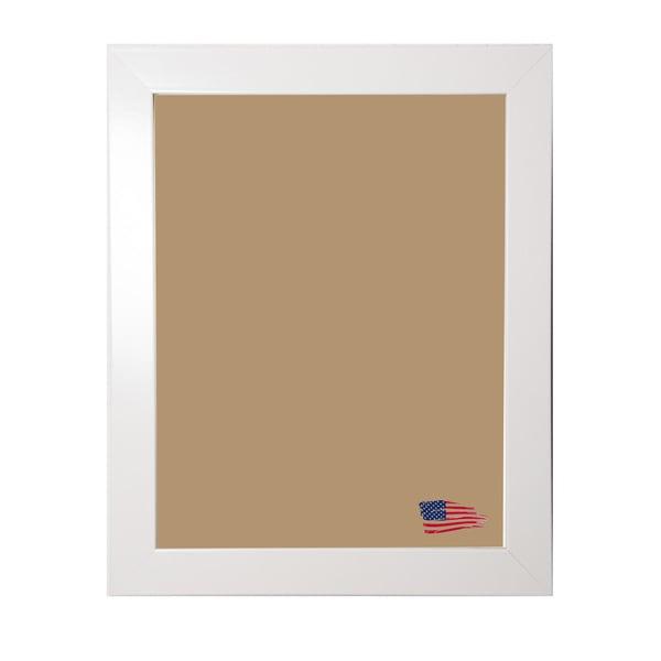 Rayne Glossy White Frame