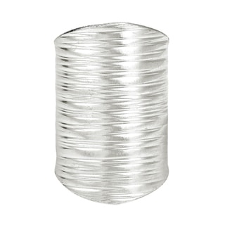 Handmade Horizontal Paths Thai Karen Hill Tribe Wrap Sterling Silver Ring (Thailand)