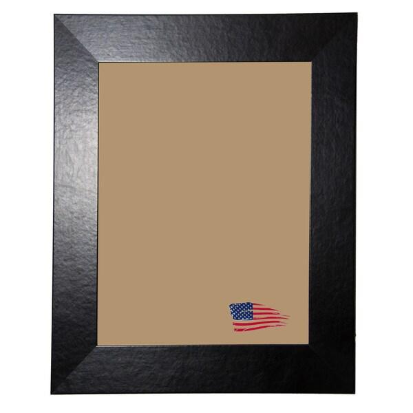 Rayne Black Wide Leather Frame
