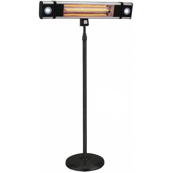 HEA-218CSLR 1500 Watt Free Standing Outdoor Electric Infrared Heater