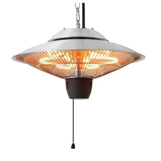 EnerG+ HEa-21524 750-1500 Watts Hanging Infrared Gazebo Heater