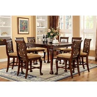 Gracewood Hollow Worra 9-piece Cherry Counter Height Dining Set