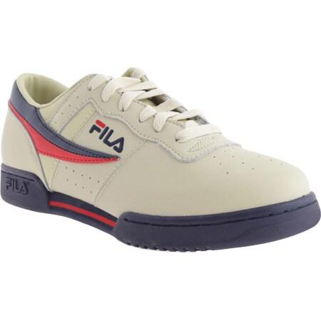 Men's Fila Original Fitness 11F16LT Cream/Peacoat/Red - Free Shipping Today  - Overstock.com - 16994131