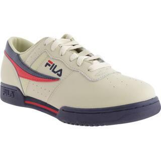 Men's Fila Original Fitness 11F16LT Cream/Peacoat/Red https://ak1.ostkcdn.com/images/products/9828973/P16994131.jpg?impolicy=medium