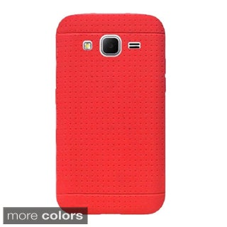 Insten Rugged Silicone Skin Gel Rubber Phone Case Cover For Samsung Galaxy Core Prime