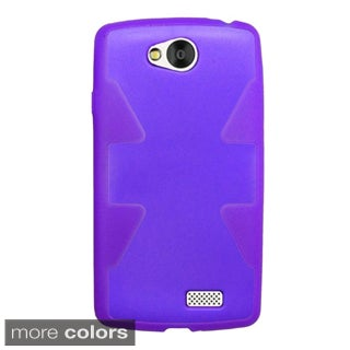 Insten Plain TPU Rubber Candy Skin Phone Case Cover For LG Optimus F60
