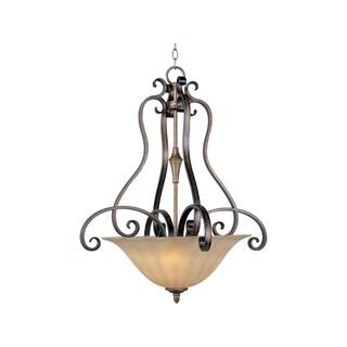 Maxim Lighting Fremont 3-light Steel Invert Bowl Pendant