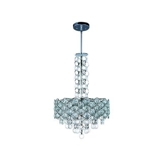 Maxim Metal 8-light Chrome Cirque Single Pendant