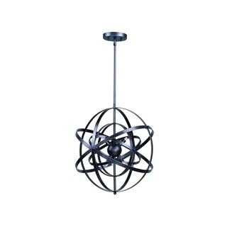 Maxim Metal 9-light Bronze Sputnik Single Pendant