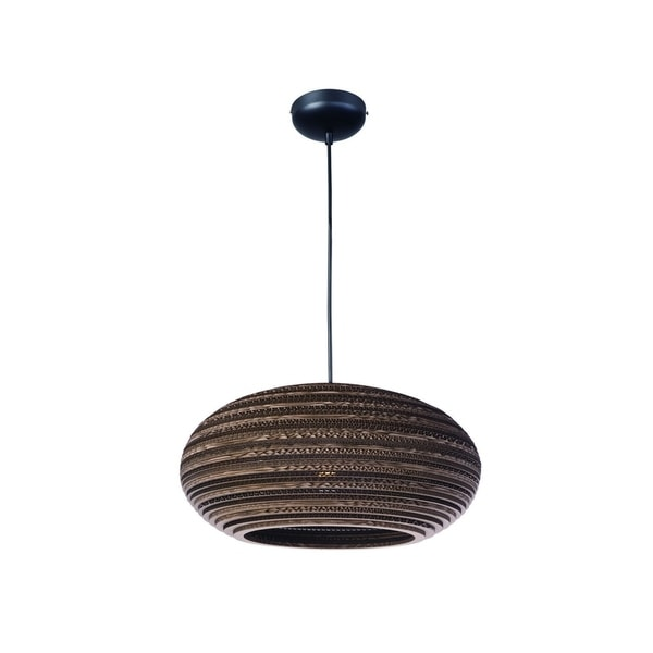 Maxim Metal 1-light Chrome Java Single Pendant