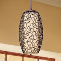 Maxim Metal 2-light Bronze Meridian Single Pendant - Brown