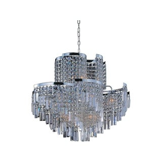 Maxim Lighting Belvedere 19-light Chrome Single Pendant