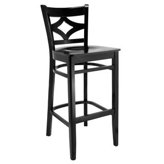 Vegas Wood Bar Stool  sc 1 st  Overstock.com & Solid Wood X-back Microfiber Seat Bar Stool - Free Shipping Today ... islam-shia.org