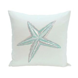 Coastal Starfish 18-inch Decorative Pillow