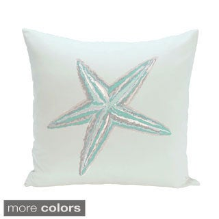 Coastal Starfish 16-inch Decorative Pillow