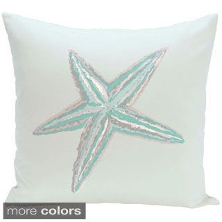 Coastal Starfish 26-inch Decorative Pillow
