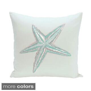 Coastal Starfish 20-inch Decorative Pillow