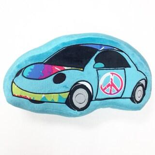 Terrific Tie Dye Decorative Car Throw Pillow