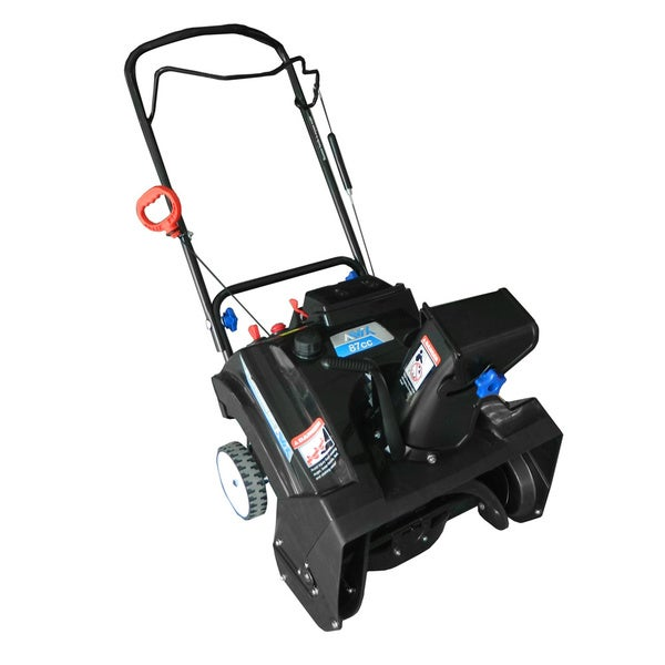 Gas Powered Snow Blowers : Shop aavix agt gas powered single stage snow thrower