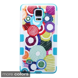 Insten Design Pattern Tuff Merge Hard Snap-on Rubberized Matte Phone Case Cover For Samsung Galaxy Note 4
