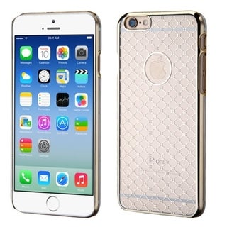 Insten Clear Hard Plastic Slim Snap-on Rubberized Matte Phone Case Cover For Apple iPhone 6