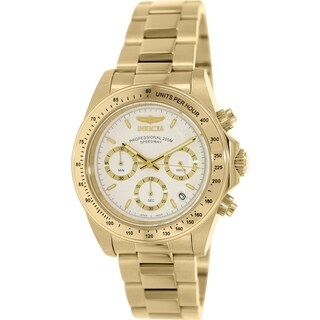 Invicta Men's Signature 7030 Goldtone Stainless Steel Quartz Watch