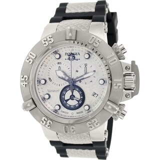 Invicta Men's Subaqua 14942 Black Rubber Swiss Quartz Watch