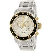 Invicta Men's Pro Diver  Stainless Steel Swiss Chronograph Watch