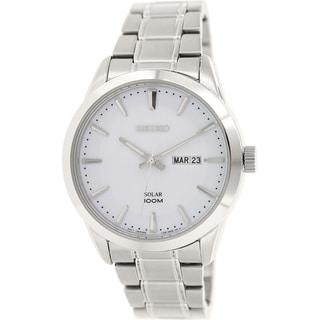Seiko Men's SNE359 Stainless Steel Quartz Watch