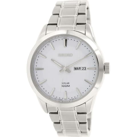 Seiko Men's Stainless Steel Quartz Watch