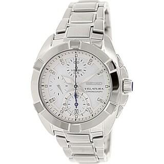 Seiko Women's Velatura SNDZ19 Stainless Steel Quartz Watch