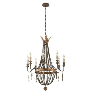 Troy Lighting Delacroix 8-light Small Chandelier