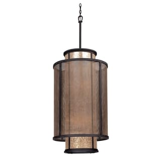Troy Lighting Copper Mountain 8-light Large Entry Pendant