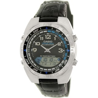 Casio Men's AMW700B-1AV Black Cloth Quartz Watch