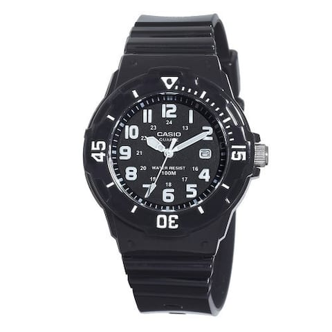 Casio Women's Core Black Resin Quartz Watch