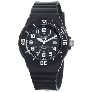 Casio Women's Core LRW200H-1BV Black Resin Quartz Watch