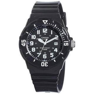 Casio Women's Core LRW200H-1BV Black Resin Quartz Watch