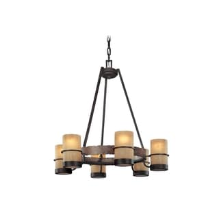 Troy Lighting Bamboo 6-light Chandelier