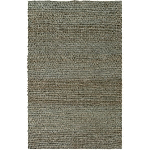 Hand-Woven Milagros Solid Pattern Jute Area Rug