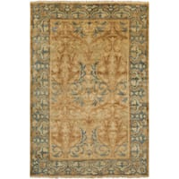 Hand-Knotted Ramona Floral New Zealand Wool Area Rug - 8' x 11'