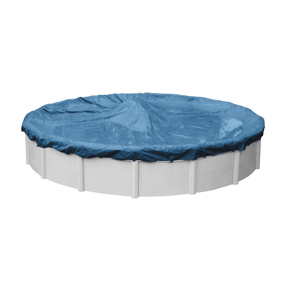 above ground pool winter covers. Robelle Super/ Dura-guard Winter Cover For Round Above-ground Pools Above Ground Pool Winter Covers