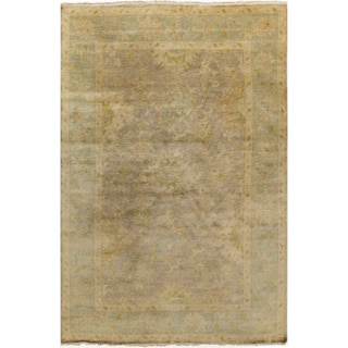 Hand-Knotted Sawyer Floral New Zealand Wool Rug (8' x 11')