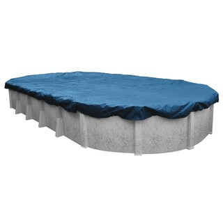 Robelle Super/ Dura-Guard Winter Cover for Oval Above-ground Pools (More options available)