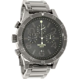 Nixon Men's 48-20 A4861885 Grey Stainless Steel Quartz Watch