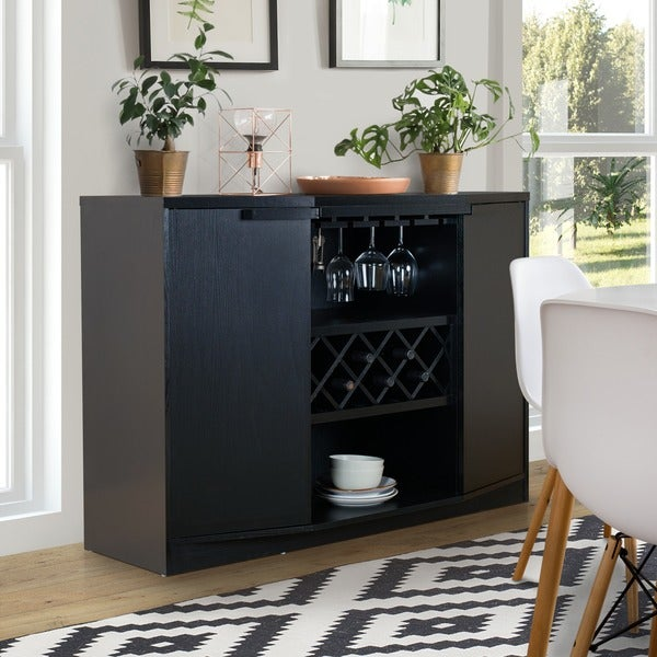 Furniture of america chapline modern wine bar buffet for Furniture of america alton modern multi storage buffet espresso