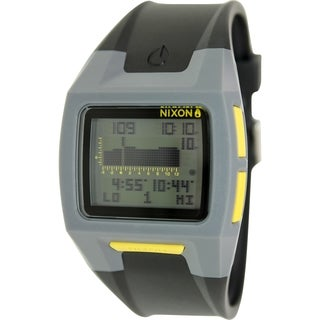 Nixon Men's Lodown A2891687 Black Resin Quartz Watch