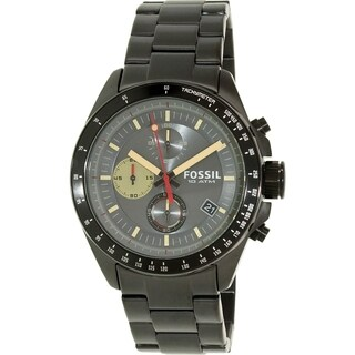 Fossil Men's CH2942 Black Stainless Steel Analog Quartz Watch