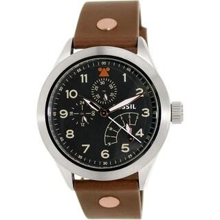 Fossil Men's CH2939 Brown Leather Quartz Watch
