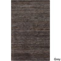 Hand-Woven Eric Stripe Hemp Textured Area Rug (5' x 8')