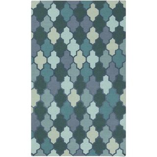 Hand-Woven Stanley Contemporary Reversible Area Rug